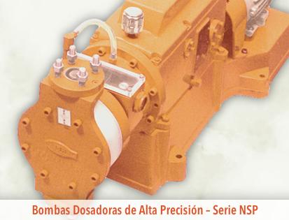 OMEL - Bombas Dosificadoras - Serie NSP