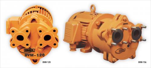 OMEL - Vacuum Pump - Monoblock - BVM-II & BVM-M