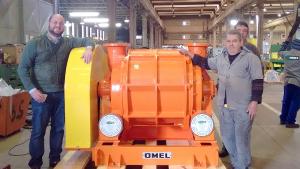 Bomba de vácuo 3k2 - Aplicação na indústria de mineração