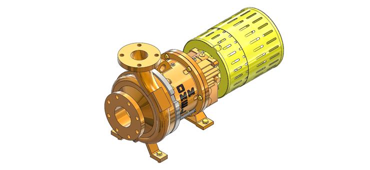 OMEL - Bomba Centrífuga UND III/MAG (Magnética)