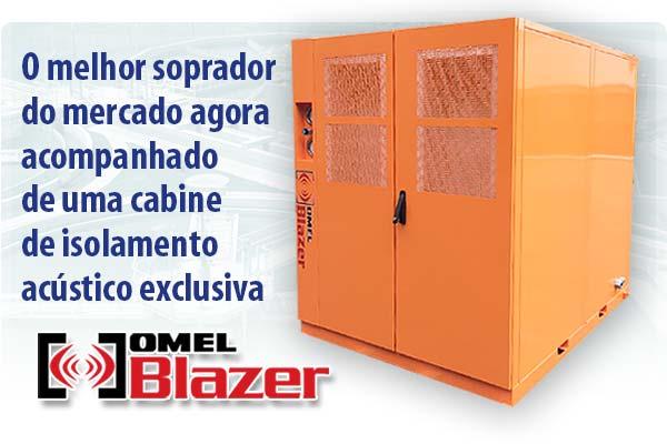OMEL Blazer cabine redutora de ruído