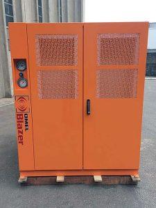 OMEL Blazer - Cabine de redução de ruído para sopradores tipo roots