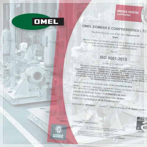 Certificação ISO 9001 2015