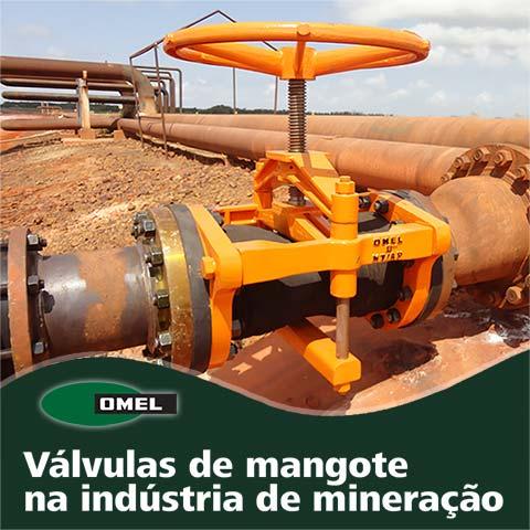 Válvulas de Mangote na Indústria de Mineração